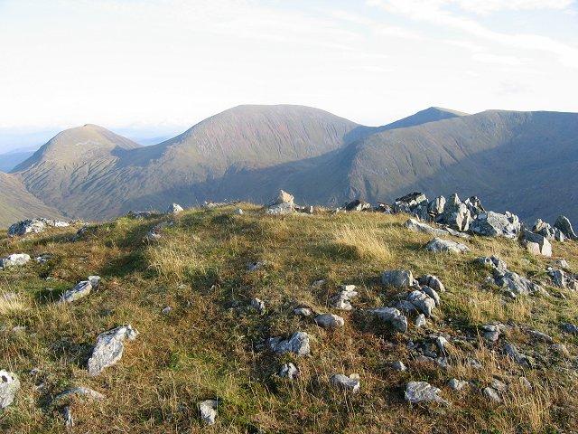 Summit, Meall an Tagraidh.