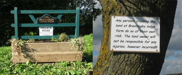 Walkers beware!