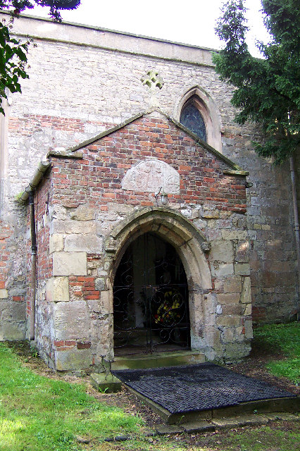South Ferriby Church - The Porch