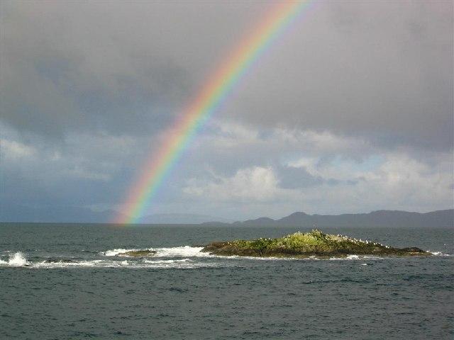 Rainbow by Traigh