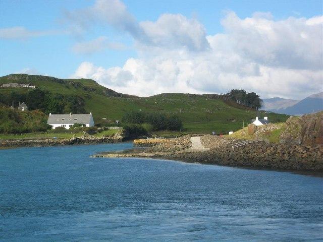 Port Mor, Muck.