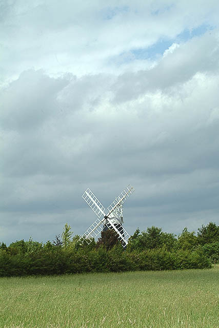 One of two windmills at Swaffham Prior