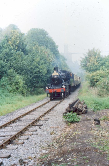 Steam Train on the old Bristol to Portishead line