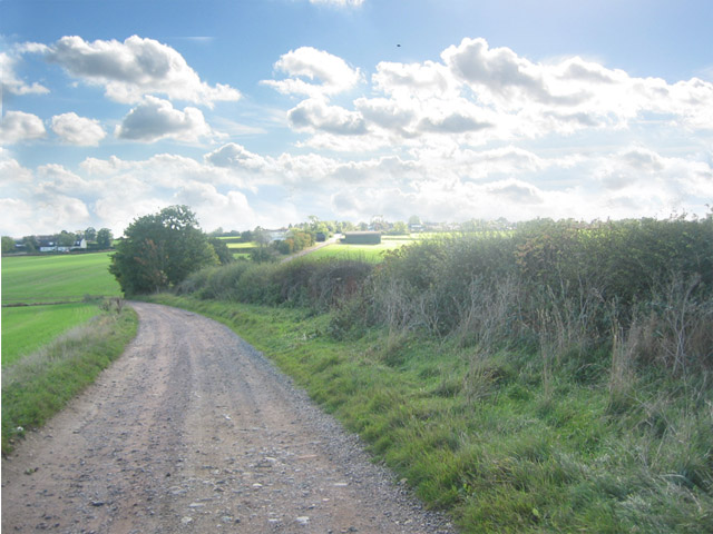 Lag Lane leading to Burton Lazars