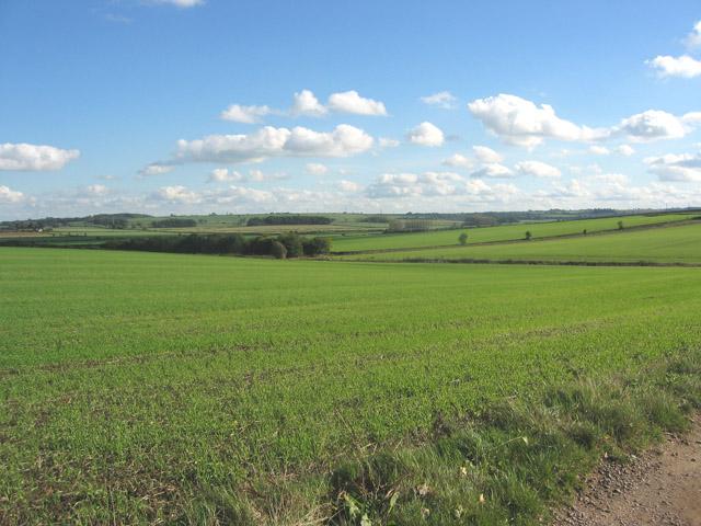 View from Lag Lane, near Burton Lazars