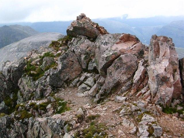 Spidean Coire nan Clach Summit Rocks, Ben Eighe