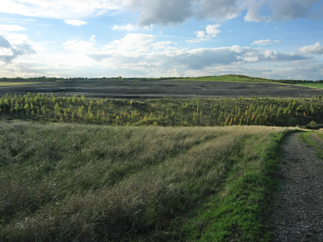 Spoil heap, near Melton Mowbray