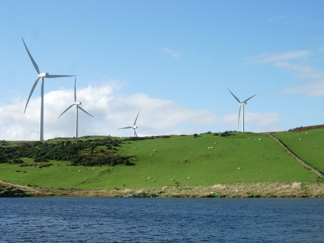 Wind farm north of Ardrossan