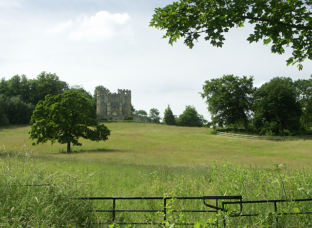 Midford Castle viewed from the footpath