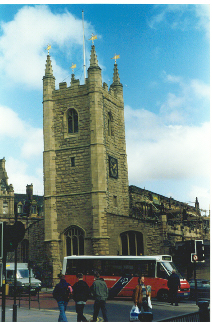 Church of St John Baptist, Newcastle upon Tyne.