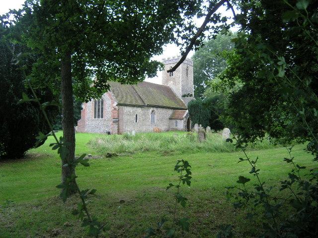 Cransford (Suffolk) St Peter's Church