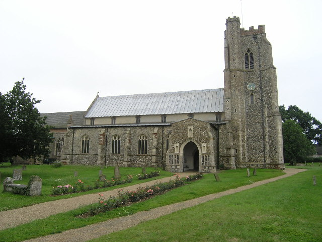 Dennington (Suffolk) St Mary's Church