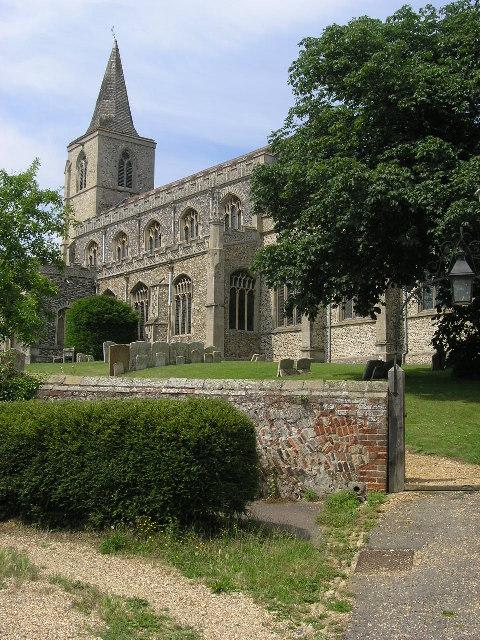 Rattlesden (Suffolk) St Nicholas's Church