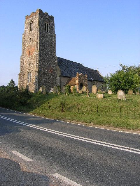 Shadingfield (Suffolk) St John the Baptist's Church