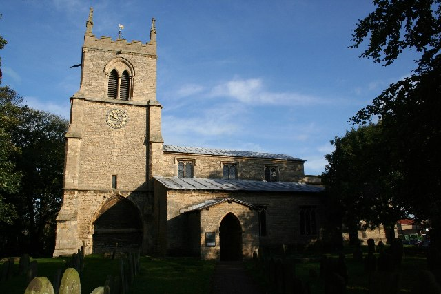 All Saints' church, Nettleham, Lincs.