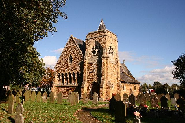 All Saints' church,North Hykeham, Lincs.