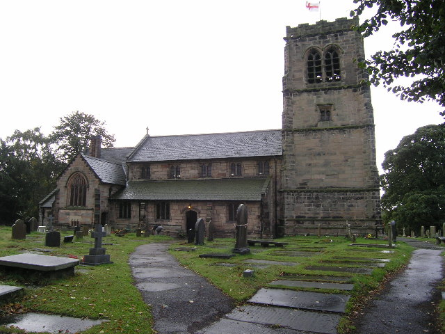 Mobberley (Cheshire) St Wilfrid' Church
