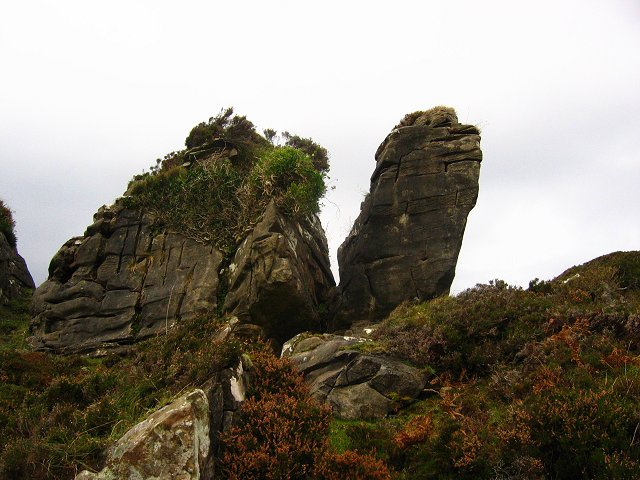 Limestone pinnacle, Heaste