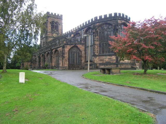 Northwich (Cheshire) St Helen's Church, Witton