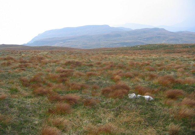Southwest slopes of Beinn nan Carn.