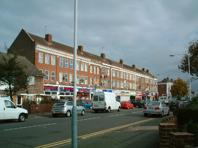 Kingshill Avenue shops