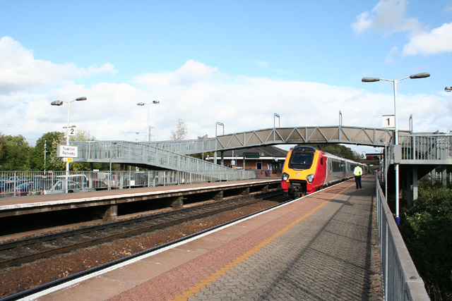 Tiverton Parkway Station