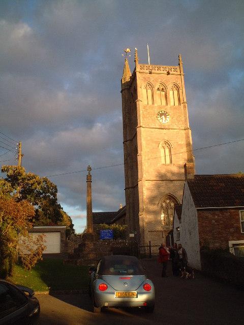 St Peter & St Paul Church Bleadon Village