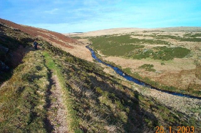 East Dart valley - Dartmoor
