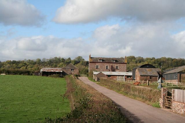 Burlescombe: Ebear Farm