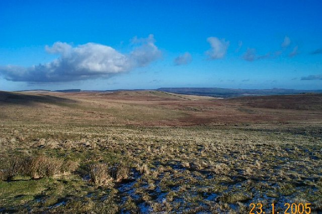 View from Rough Tor - Dartmoor