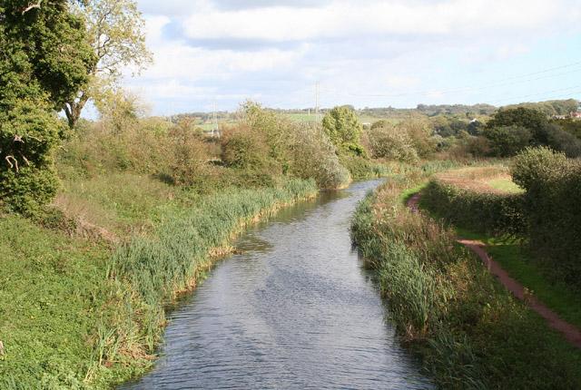 Burlescombe: Grand Western Canal near Ebear Bridge