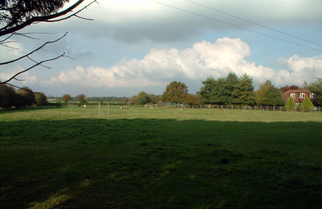 Countryside south of Downe, BR6