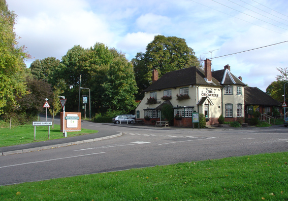 The Cricketers at Alresford