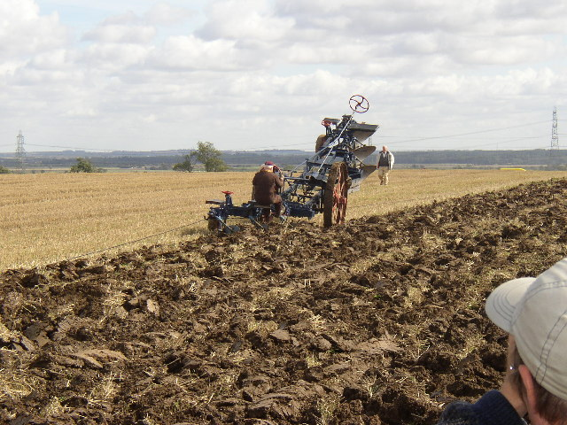Ploughing The Old Way