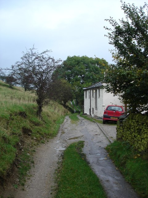 Track / public footpath at Westfield Farm