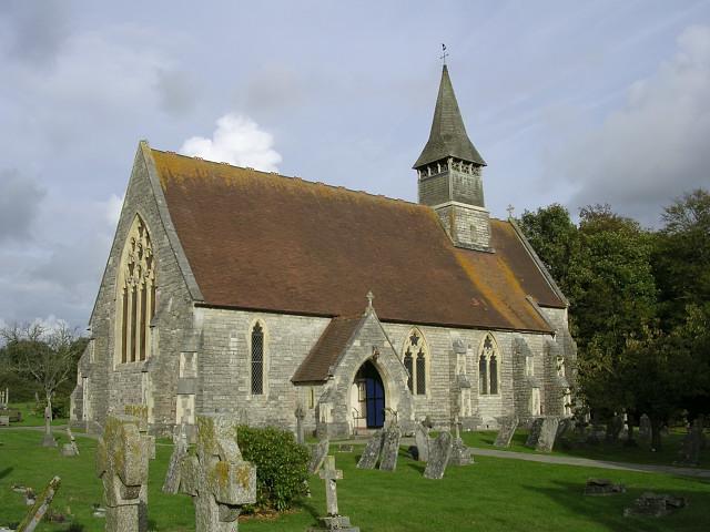 St Matthew's church, Netley Marsh