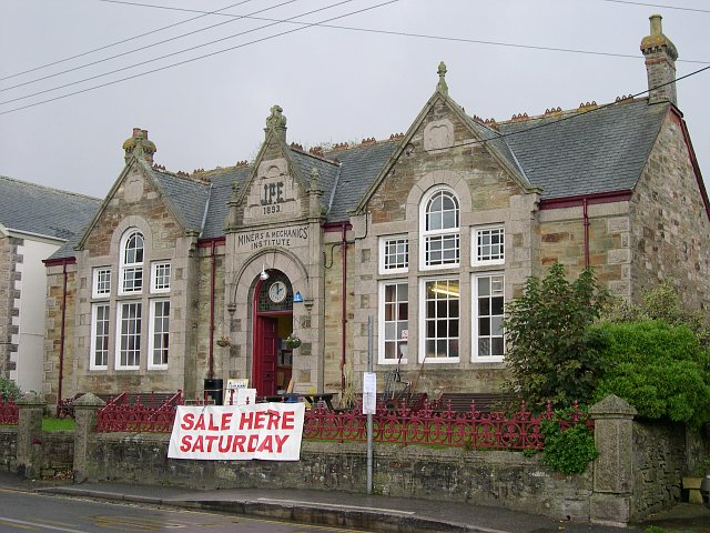St Agnes Miners and Mechanics Institute