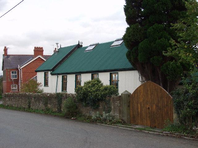 Tin Chapel at Halton
