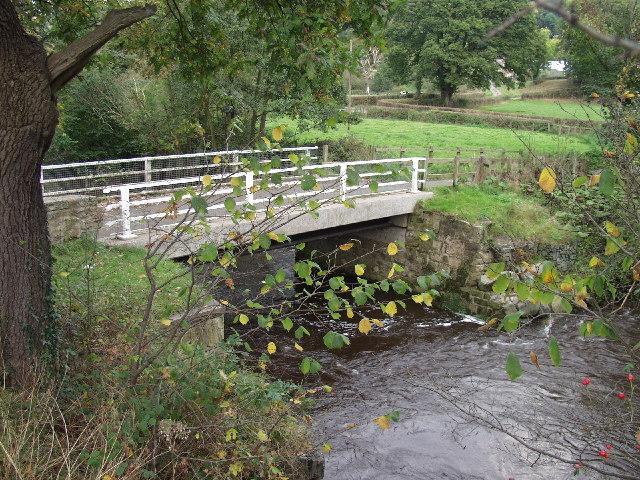 Pont Llygoden - number 1 bridge on  Afon Ceiriog