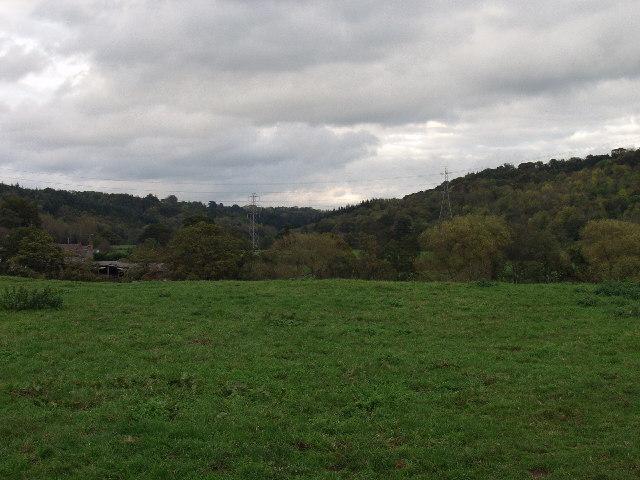 The Afon Dyfrdwy valley
