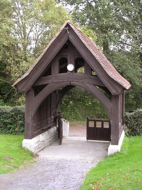 The lych gate, Dibden parish church