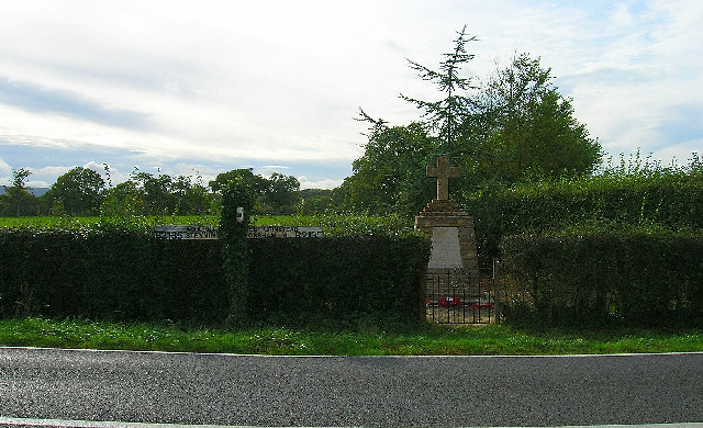 War memorial, Jolesfield Common