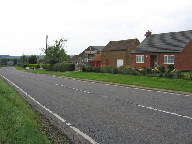 B676 between Coston and Coston Lodge, Leicestershire