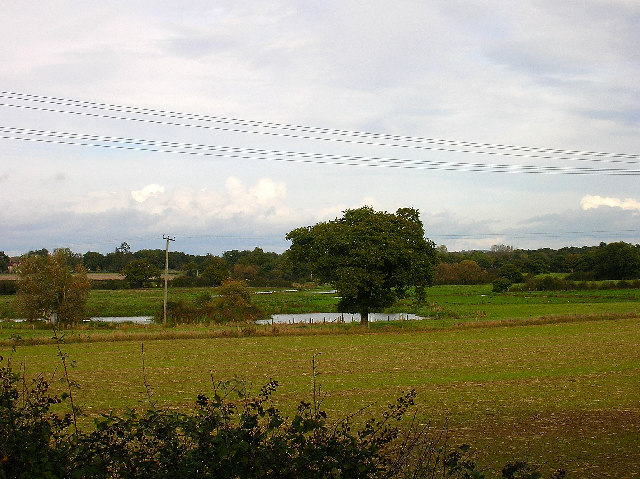 Water Meadows and Farmland, near Partridge Green