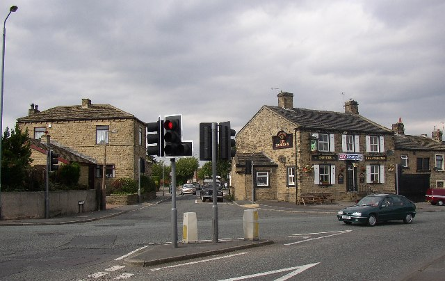 The Fountain Cross-roads, Mirfield