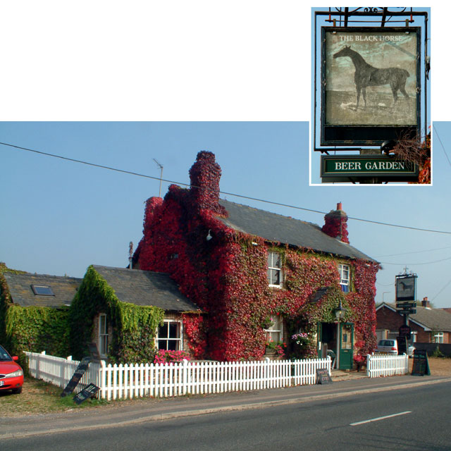 The Black Horse, Rampton CB4
