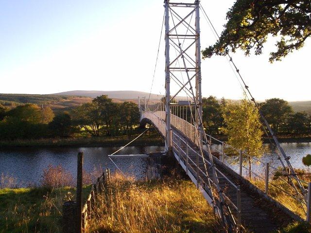 Suspension Bridge To Langwell