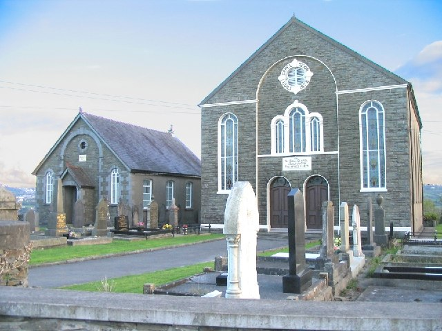 Twin chapels at Capel Seion