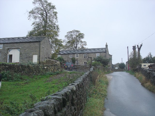 Houses at Small Banks south of Addingham