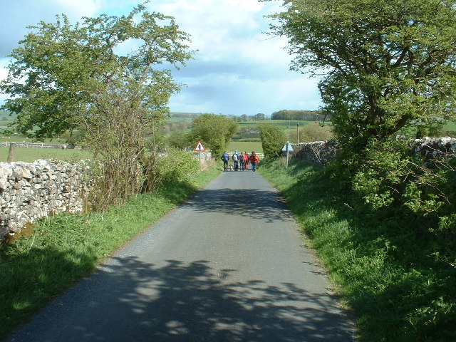 The road to Slaidburn